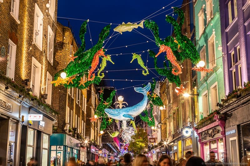 Carnaby Street - Christmas Lights 2019