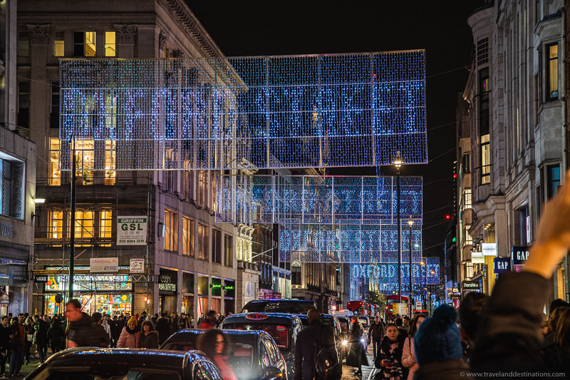 Oxford Street - Christmas Lights 2019