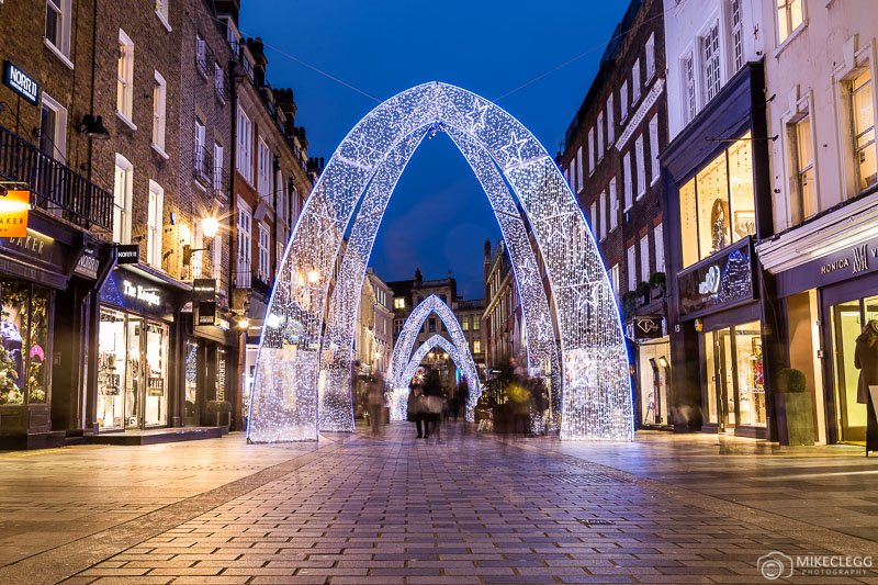 South Molton Street Christmas Lights, London