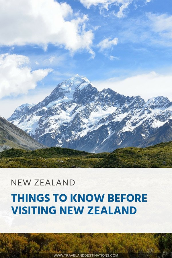 Things To Know Before Visiting New Zealand - Pin