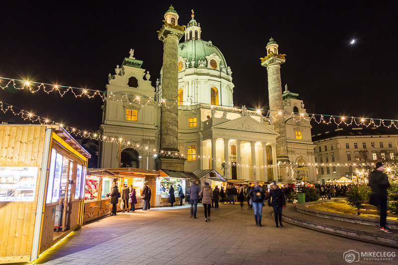 Art Advent Christmas Market at Karlsplatz, Vienna
