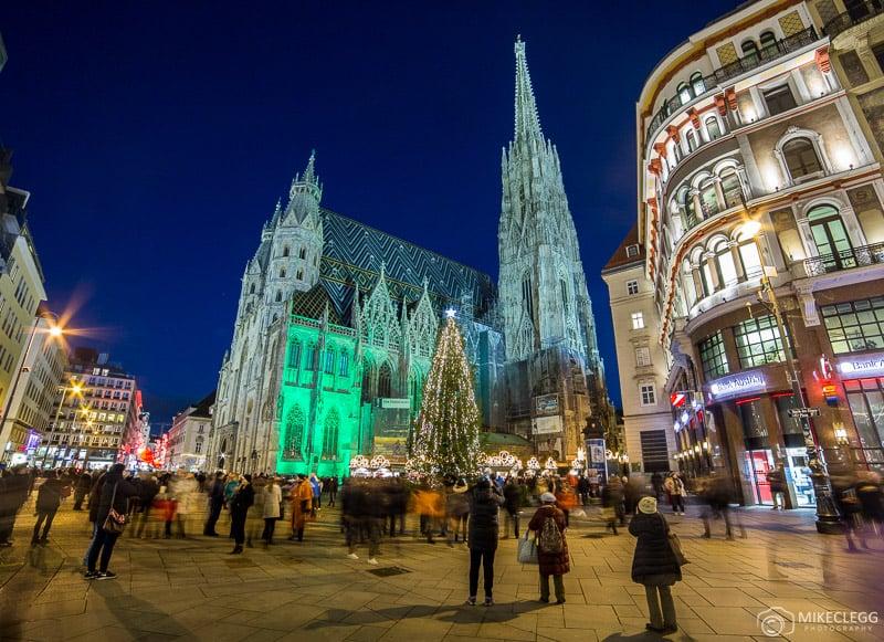 Stephansplatz at Christmas