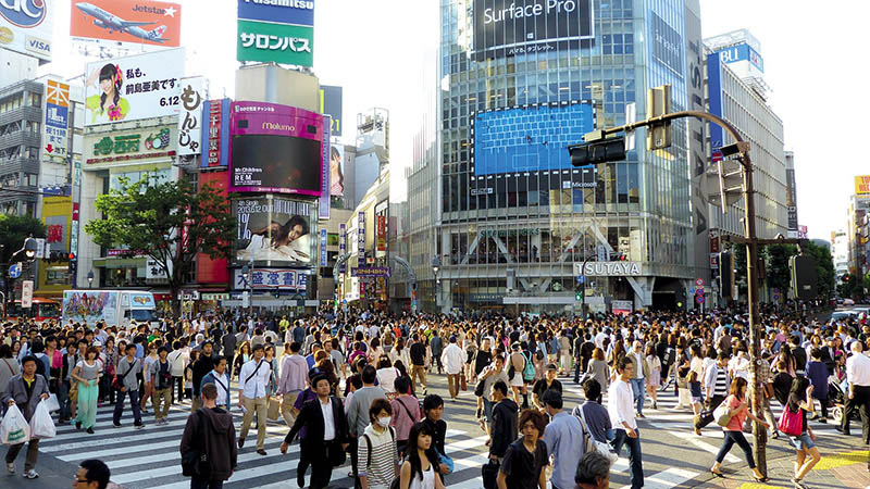 Tokyo Streets and Shibuya Crossing