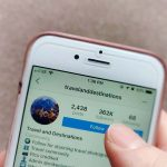 Following travel hubs on Instagram