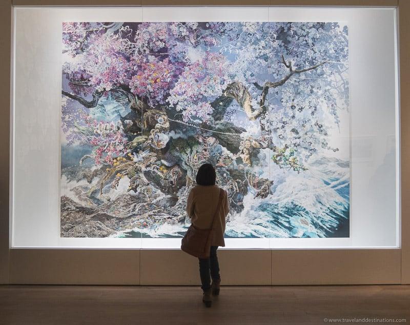 Mori Art Museum in Tokyo