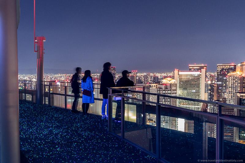 Observation deck at the Umeda Sky Building