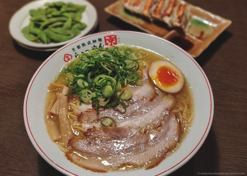 Ramen Dish in Japan