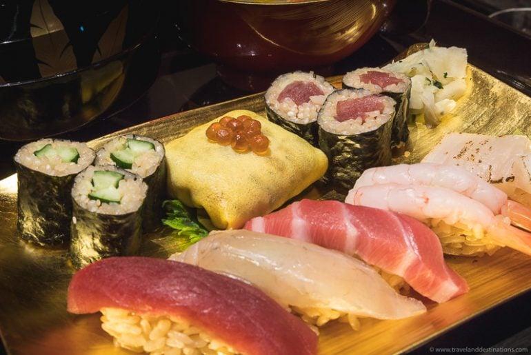 Sushi in Japan (Maki and Nigiri)