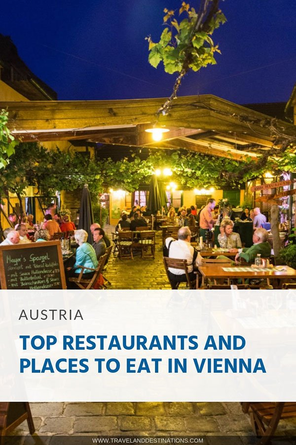 Top Restaurants and Places to Eat in Vienna