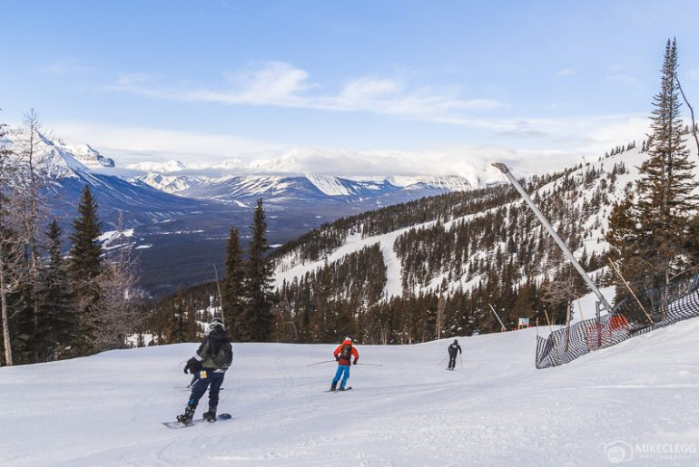 Winter Sports and landscape