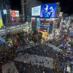 Classic photography and Instagram views in Tokyo