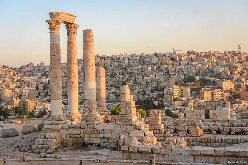 Amman and Roman Ruins