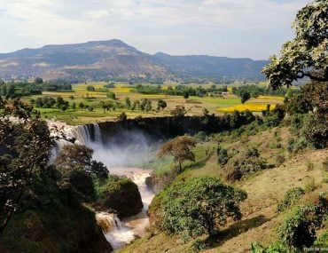 Best Places in Ethiopia, Africa - Blue Nile Falls