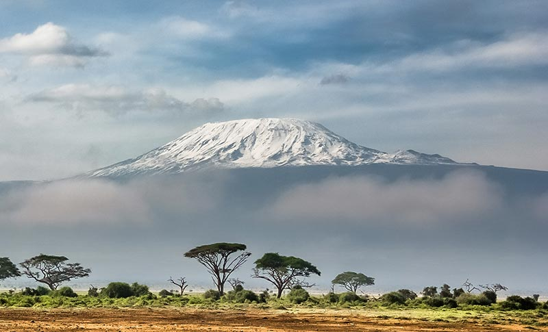 Mount Kilimanjaro - By sergey-pesterev -via unsplash
