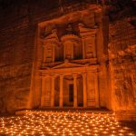 Petra, Jordan at night-ancient-architecture-art-1115769