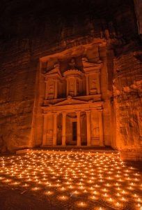 Petra, Jordan at night-ancient-architecture-art-1115769