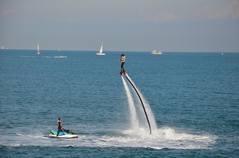 Flyboard water sport