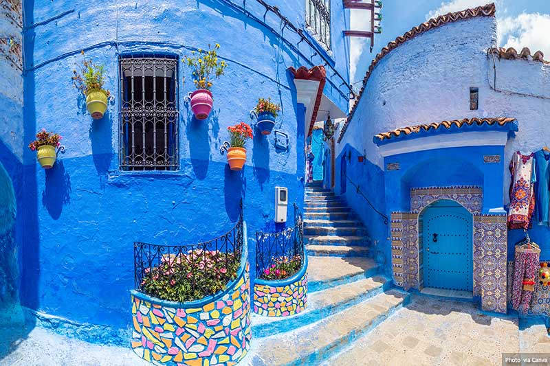 Chefchaouen Blue Streets and Facades