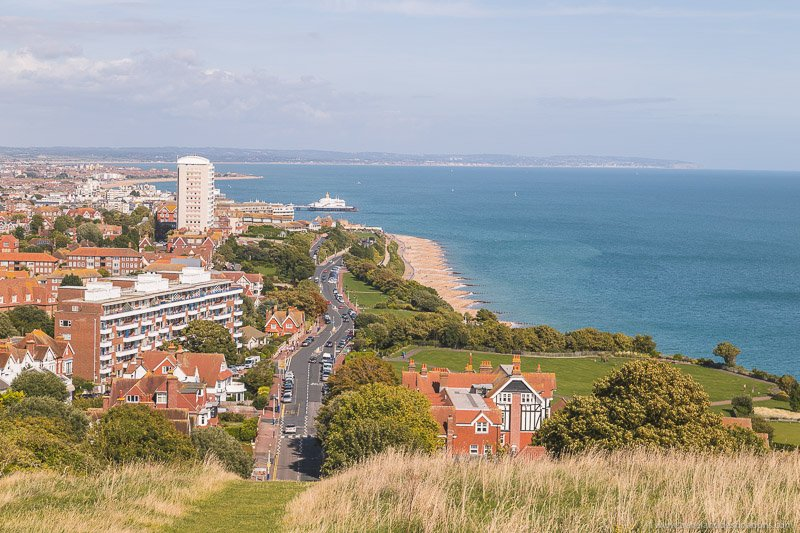 Eastbourne from Seven Sisters