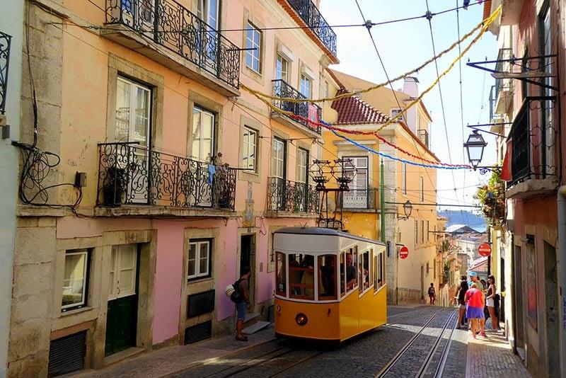 Lisbon, Portugal - Tram