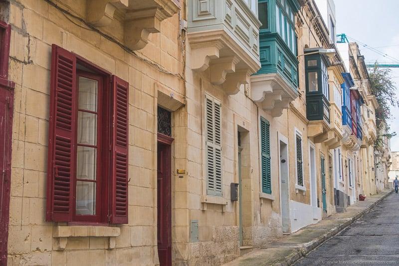 Streets in Sliema