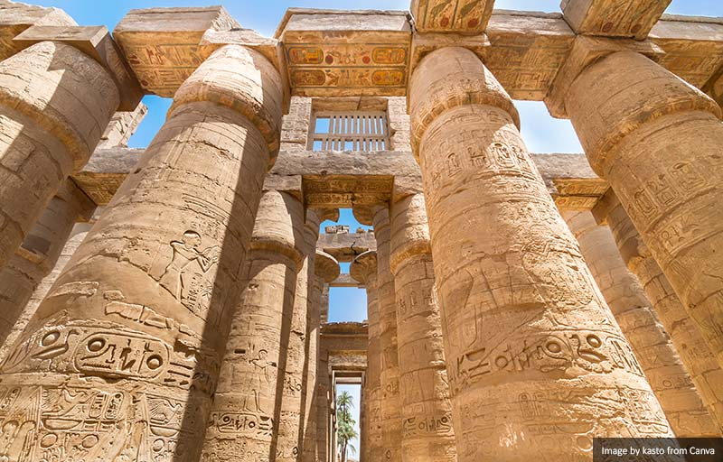 Temples of Karnak, Luxor, Egypt
