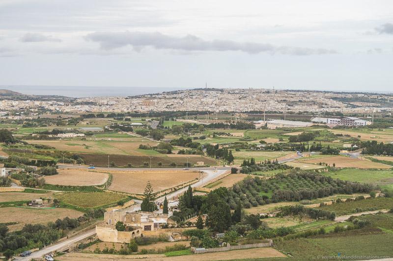 Views from Mdina