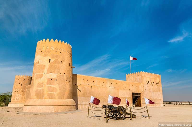 Al Zubara Fort in Qatar