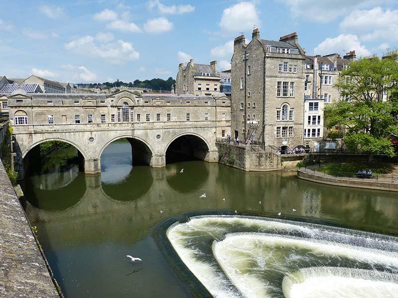 Architecture in Bath, UK