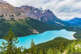 Beautiful Places in Canada - Peyto Lake, Banff