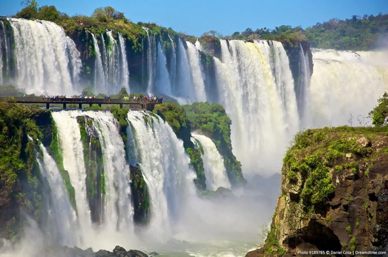 Beautiful Waterfalls - Iguazu Falls