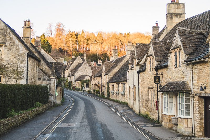 Castle Combe, Cotsworlds, UK