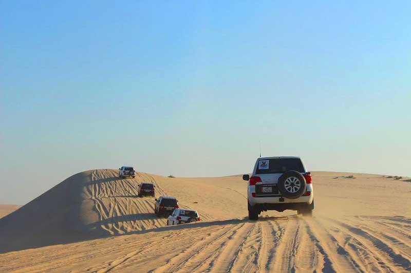 Doha Desert and 4WD