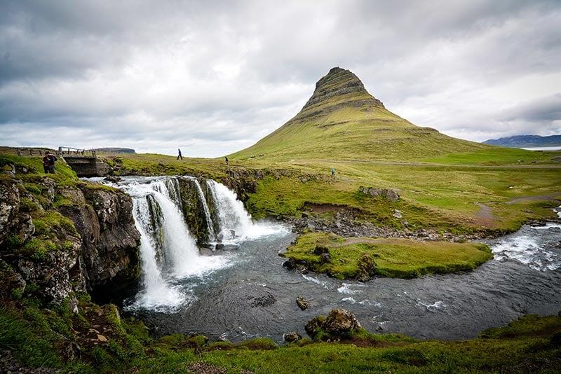Kirkjufell waterfall, Iceland