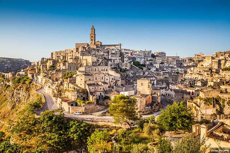 Matera Ancient Town - Italy