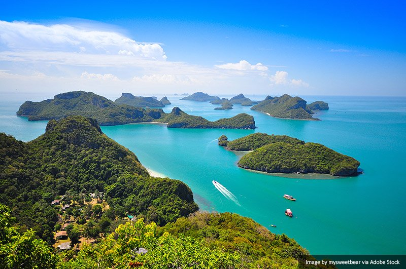 Mu Koh Angthong National Marine Park via Adobe Stock