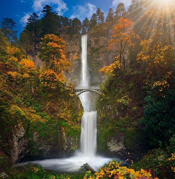 Multnomah Falls, USA