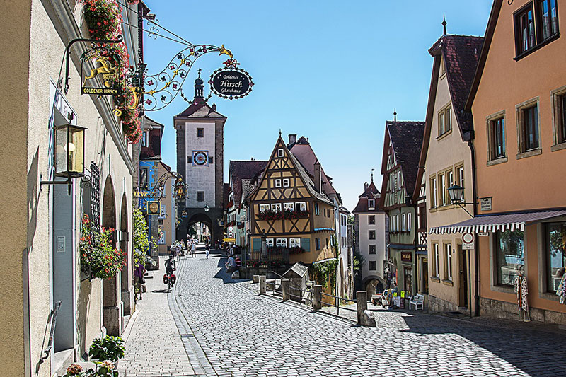 Rothenburg od Der Tauber