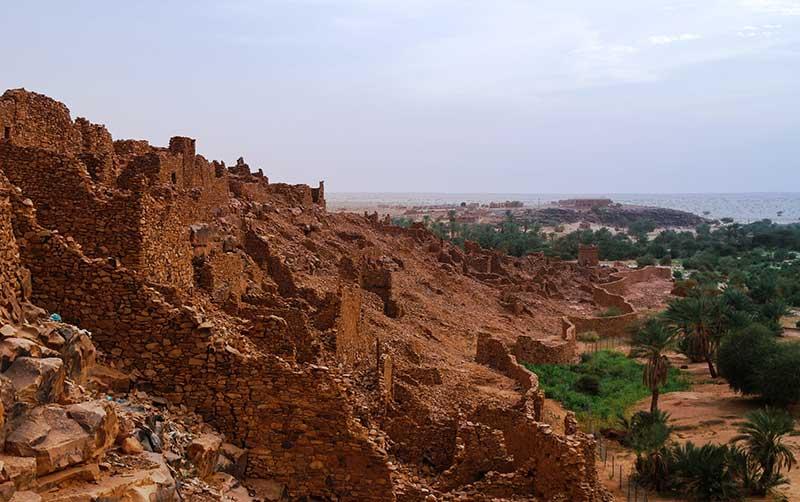 Ruins in Ouadane