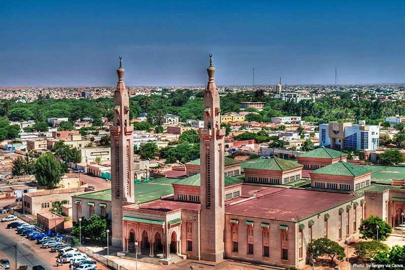 Saudique Grand Mosque in Nouakchott