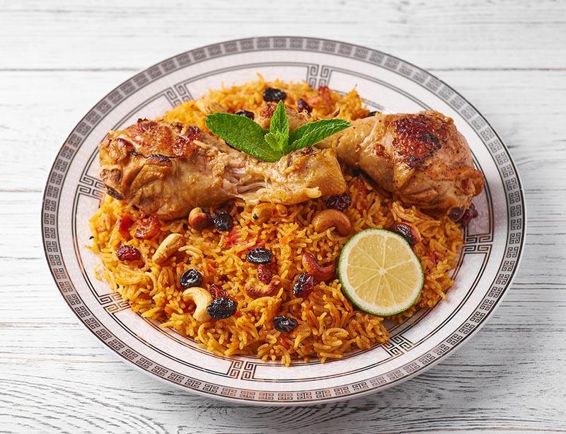 Traditional Arabic Kabsa
