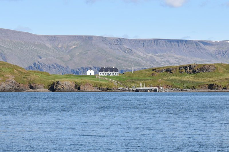 Videy island, Iceland
