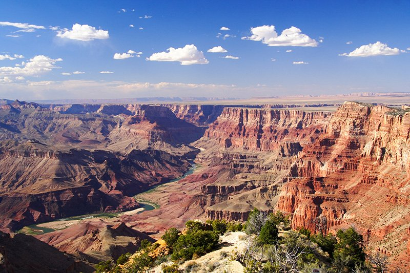 Views of the Grand Canyon, National Park