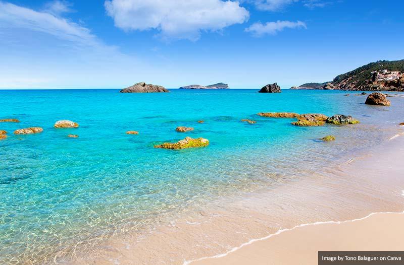 Aiguas Blanques Agua Blanca Beach