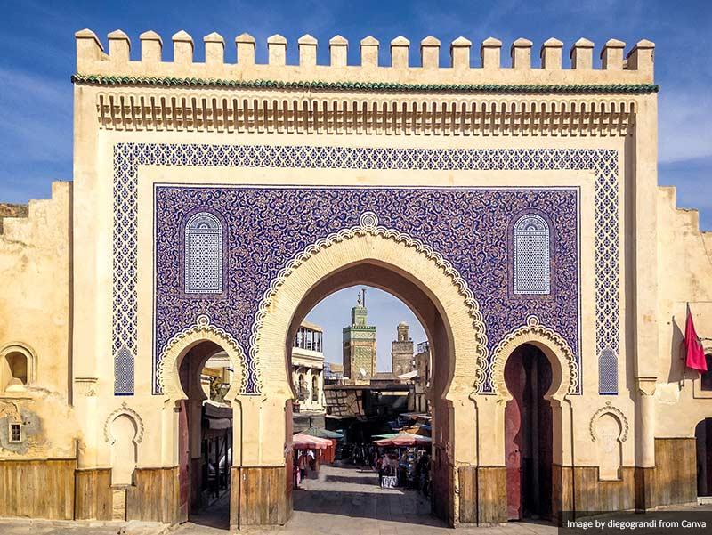 Bab Bou Jeloud gate (Blue Gate)