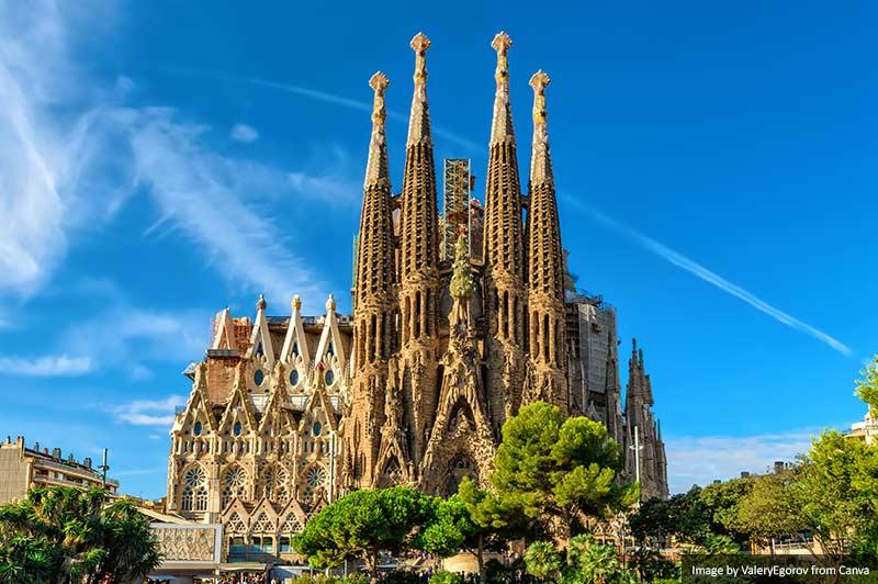 Барселона - Саграда Фамилия лучшие места в барселоне 15 лучших мест для Instagram и фотографии в Барселоне Barcelona Sagrada Familia