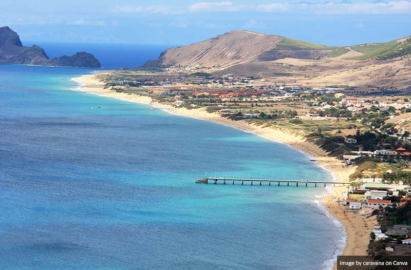 Beaches in Porto Santo