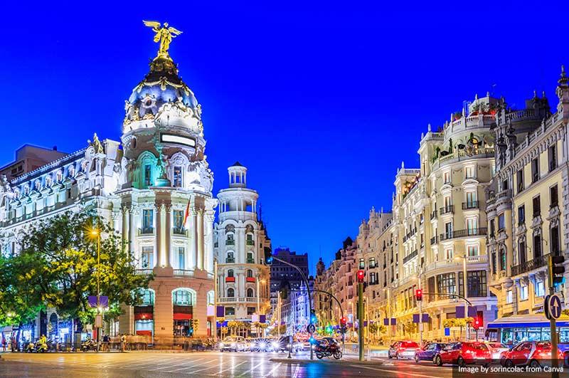 Gran Vi, Madrid