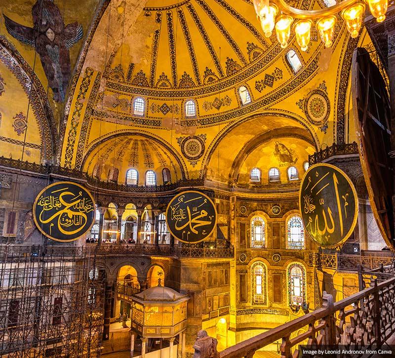 Hagia Sophia Museum interior