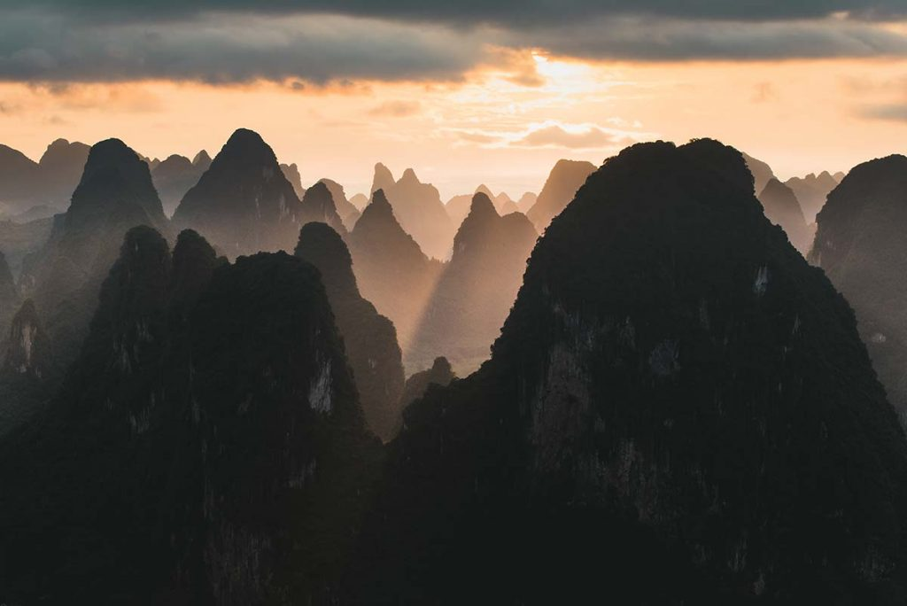 Karst Mountains - by Tom Franklin de Waart